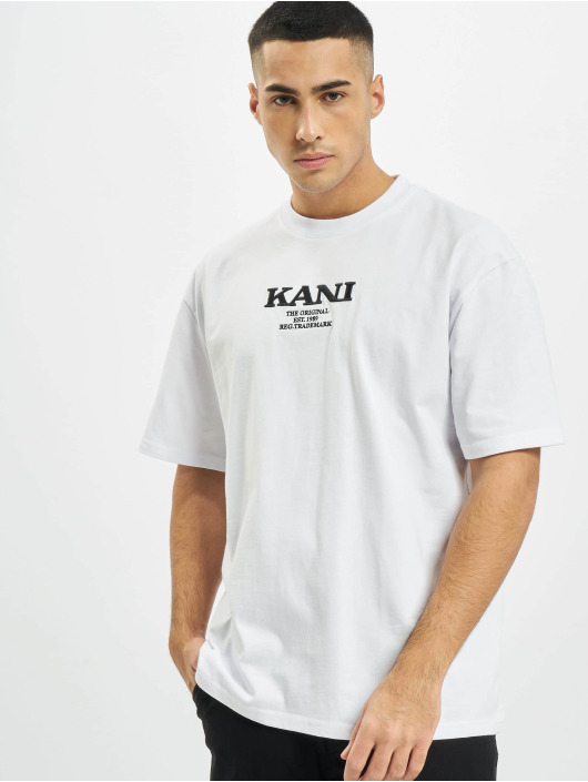 Karl Kani t-shirt Retro wit