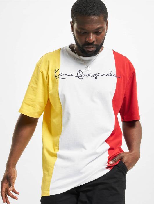Karl Kani t-shirt Originals Block wit