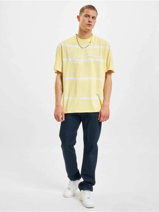 Karl Kani T-Shirt Signature Tie Dye yellow