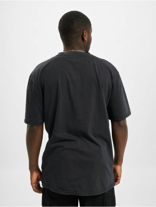 Karl Kani t-shirt Small Signature Washed zwart
