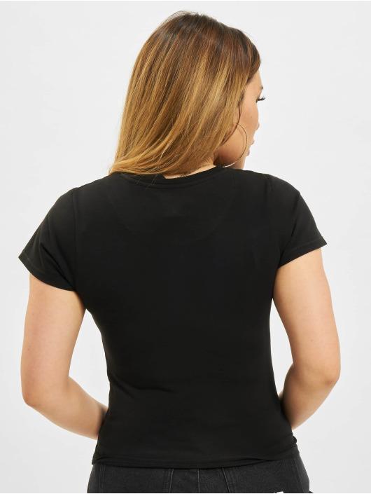 Karl Kani t-shirt Small Signature Box zwart
