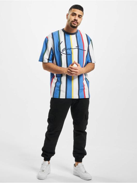 Karl Kani T-shirts Kk Stripe hvid