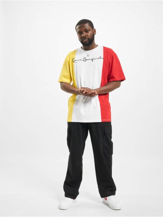 Karl Kani T-shirts Originals Block hvid