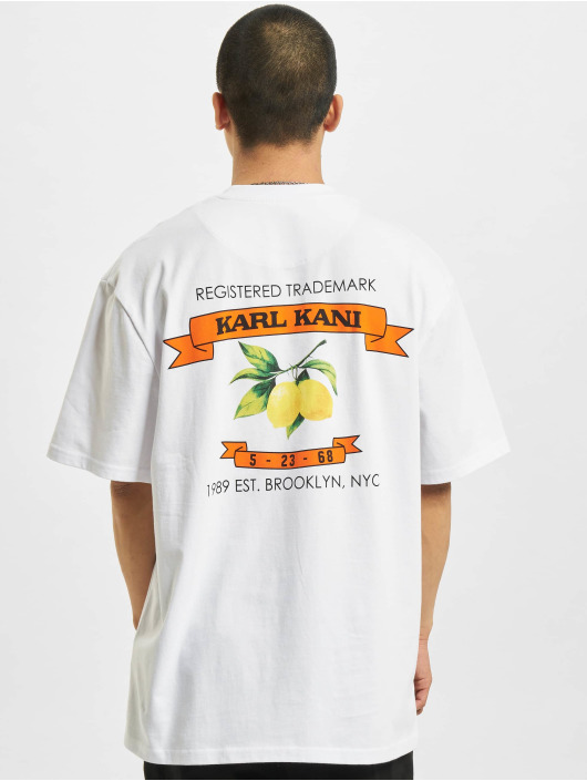 Karl Kani T-shirts Small Signature hvid