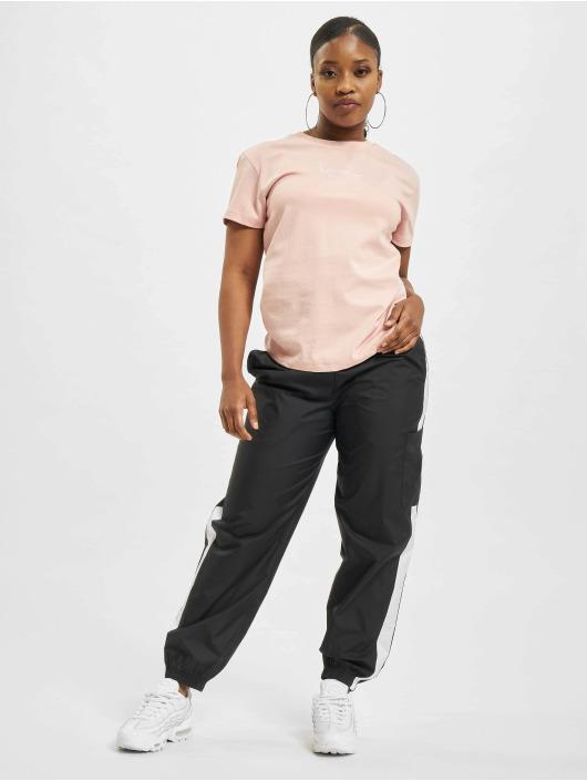 Karl Kani T-shirts Small Signature rosa