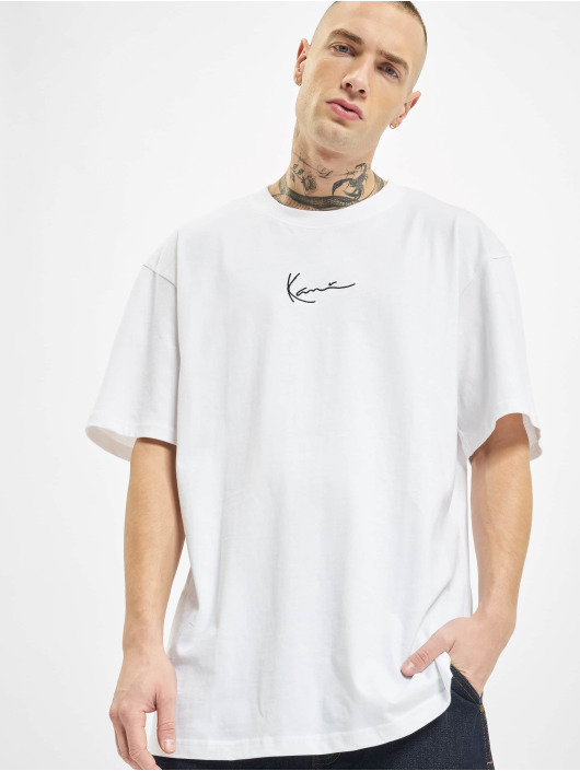 Karl Kani T-Shirty Signature bialy