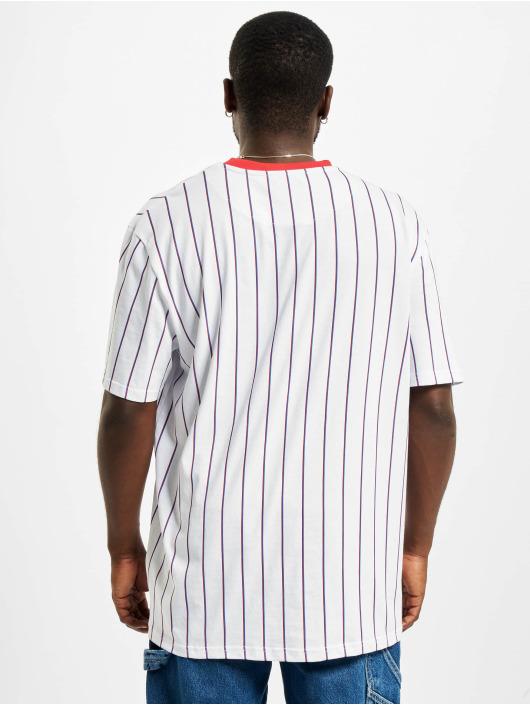 Karl Kani T-Shirty Originals Pinstripe bialy