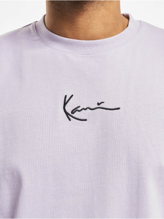 Karl Kani T-Shirty Kk Small Signature fioletowy
