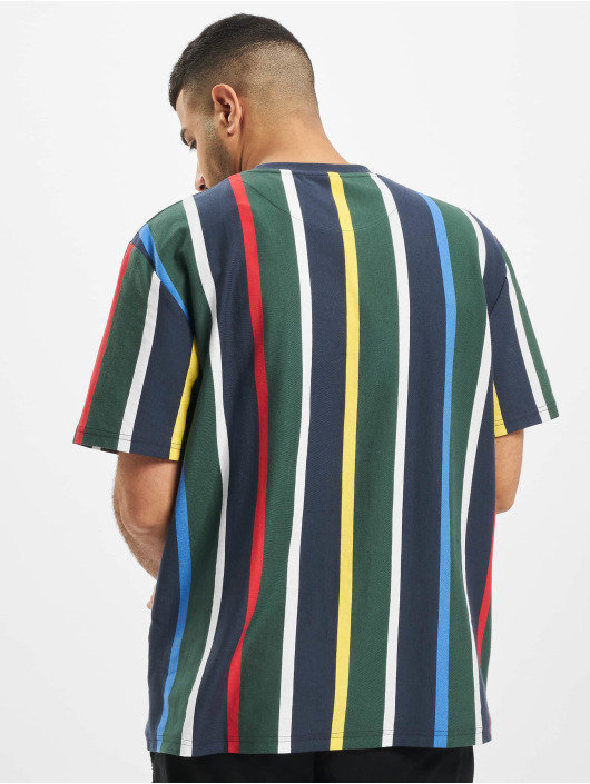 Karl Kani T-Shirty Kk Stripe niebieski