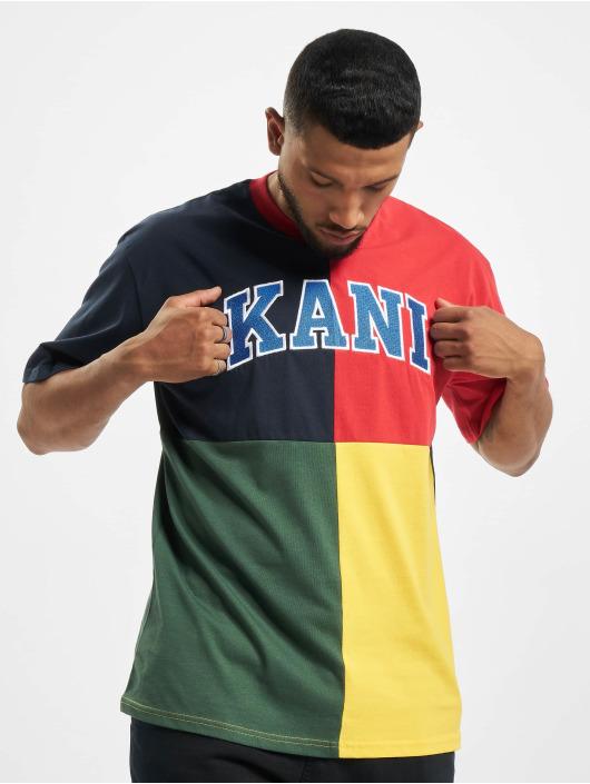 Karl Kani T-Shirty Kk Serif Block niebieski