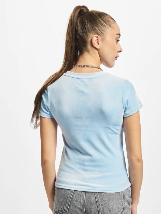 Karl Kani T-Shirty Short niebieski