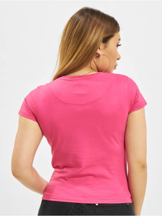 Karl Kani T-Shirty Small Signature Box pink