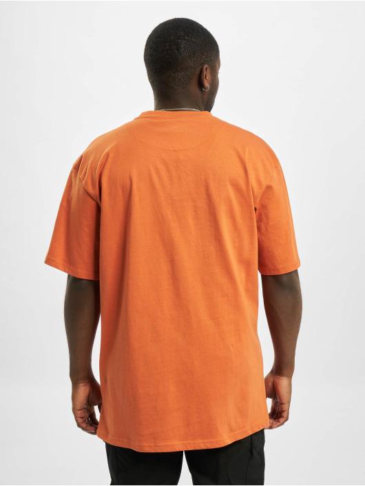 Karl Kani T-Shirty Small Signature pomaranczowy