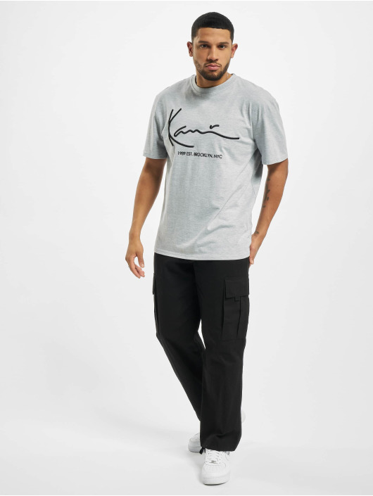 Karl Kani T-Shirty Signature Brk szary