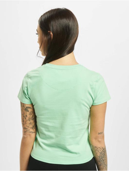 Karl Kani T-Shirty Signature Short zielony