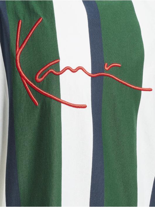 Karl Kani T-Shirty Signature Stripe zielony