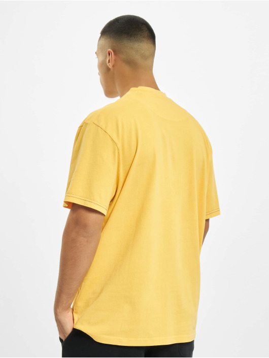 Karl Kani T-Shirty Kk Small Signature Washed zólty