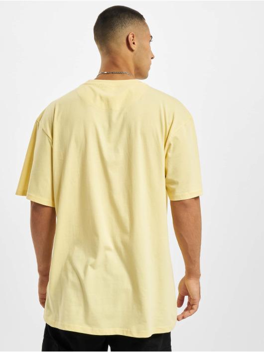 Karl Kani T-Shirty Small Signature Box zólty