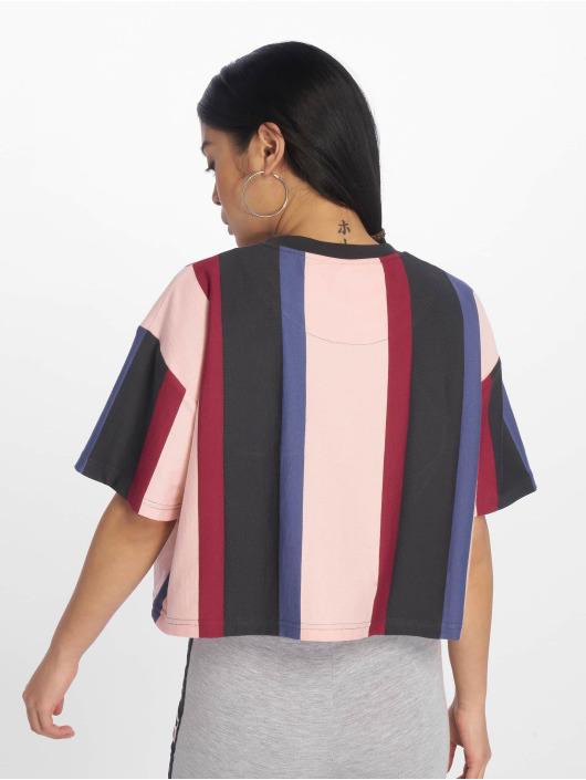Karl Kani T-skjorter Signature Stripe blå
