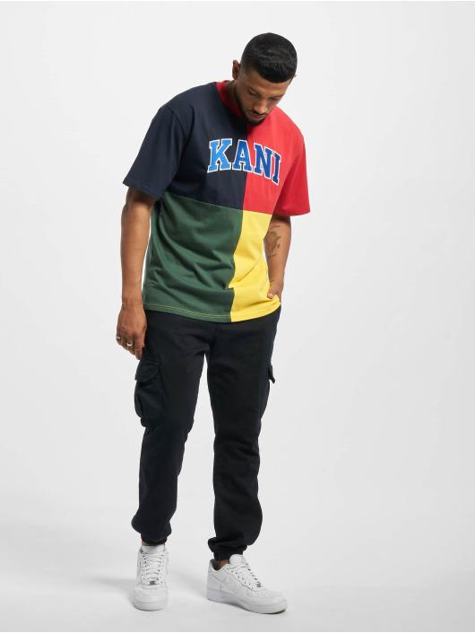 Karl Kani T-skjorter Kk Serif Block blå