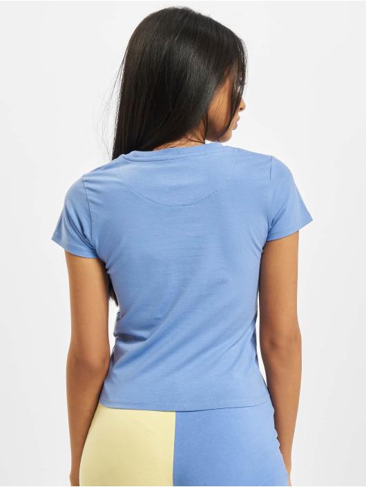 Karl Kani T-skjorter Signature Short blå