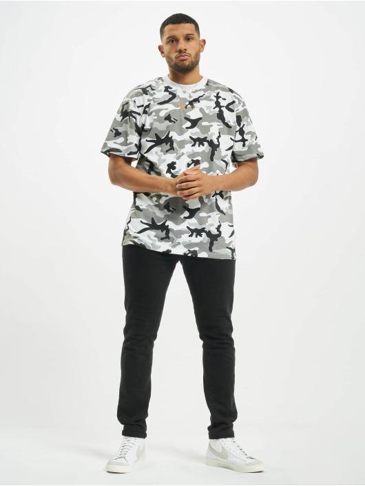 Karl Kani T-skjorter Kk Small Signature kamuflasje