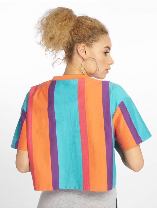 Karl Kani T-skjorter Signature Stripe mangefarget