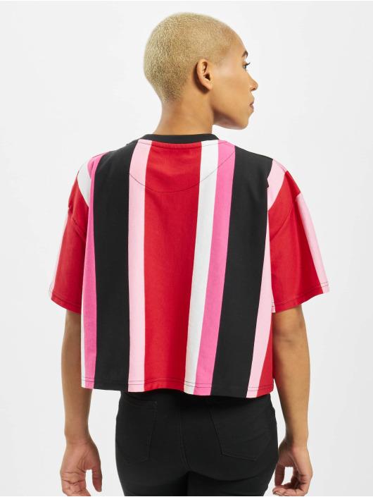 Karl Kani T-skjorter Signature Stripe red