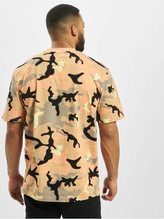 Karl Kani T-skjorter Signature Camo rosa