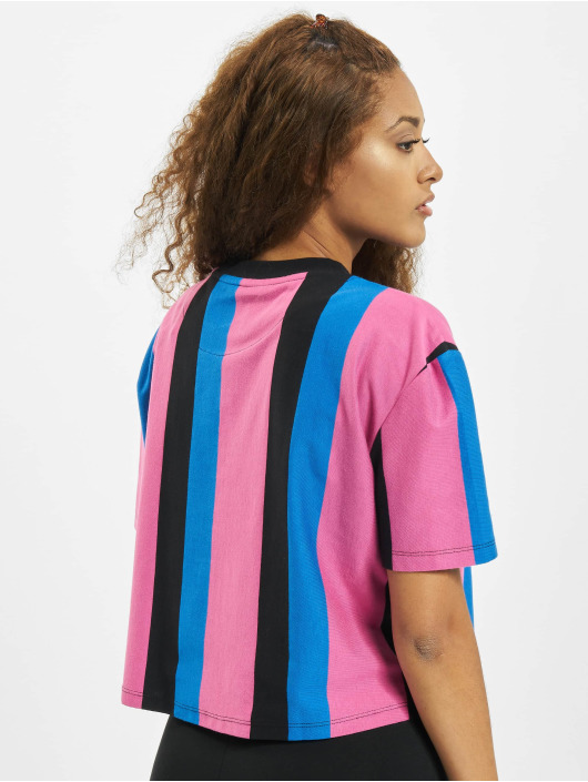 Karl Kani T-skjorter Kk Signature Stripe svart