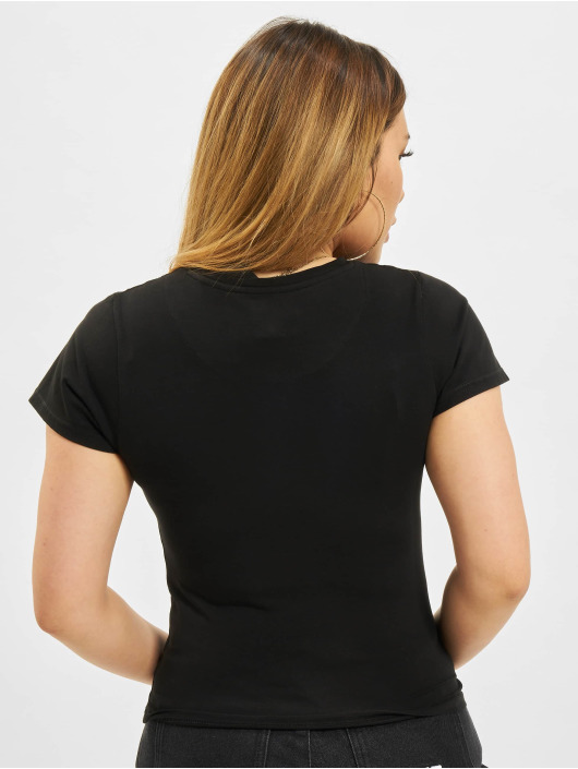 Karl Kani T-skjorter Small Signature Box svart