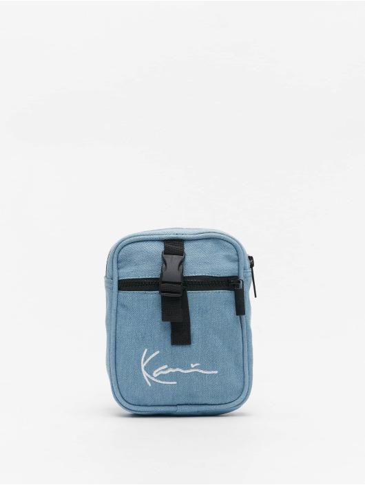 Karl Kani tas Kk Signature Tape Messenge blauw