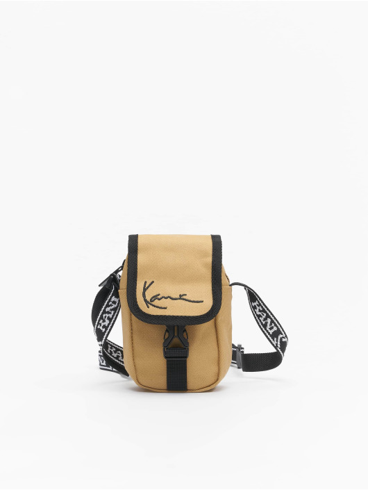 Karl Kani Taske/Sportstaske Signature Mini Messenger beige
