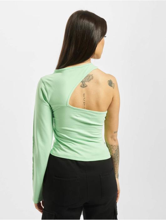 Karl Kani Top Retro One Shoulder grün