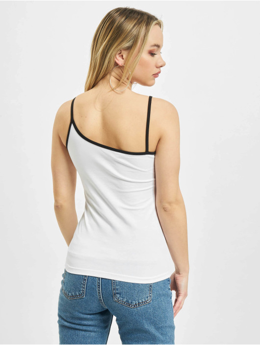 Karl Kani Top Small Signature Asymmetric white
