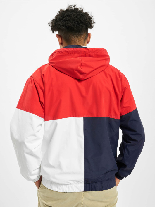 Karl Kani Transitional Jackets Retro Block Classic red