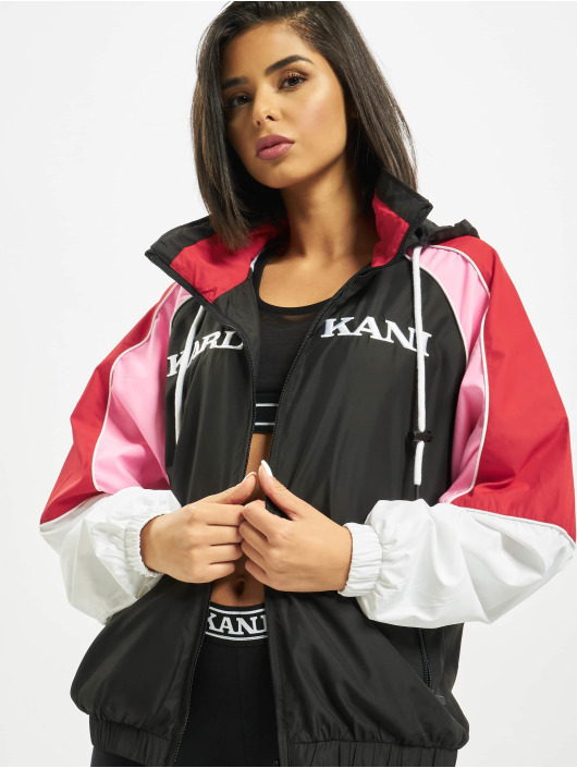 Karl Kani Transitional Jackets Retro Block Transition svart