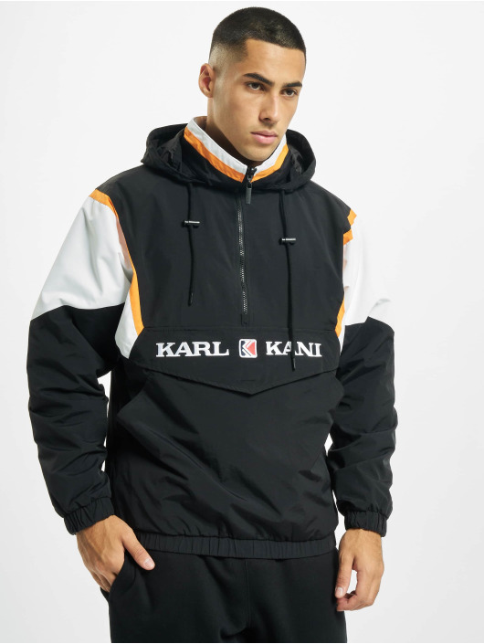Karl Kani Transitional Jackets Kk Retro Block Reversible svart