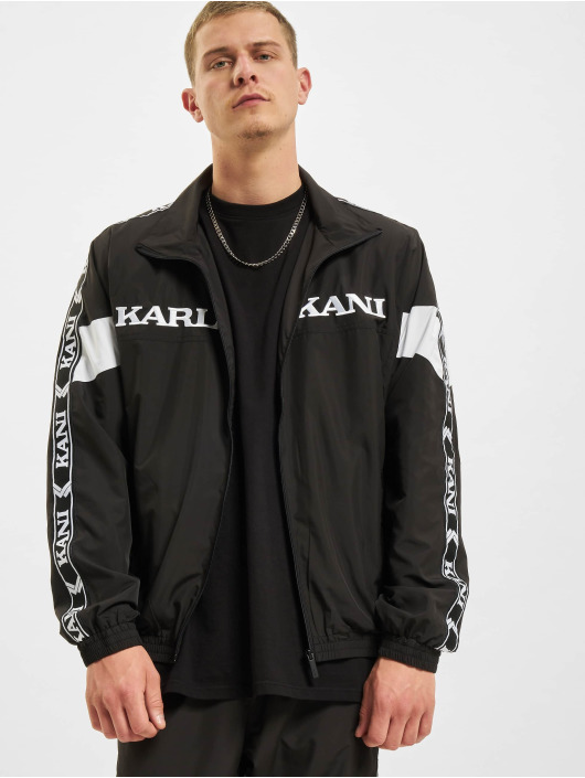 Karl Kani Transitional Jackets Retro Tape Track svart