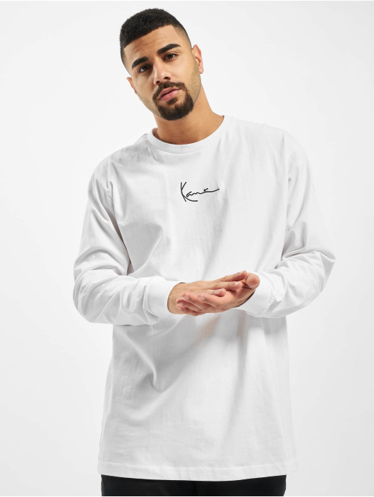 Karl Kani Tričká dlhý rukáv Kk Small Signature biela