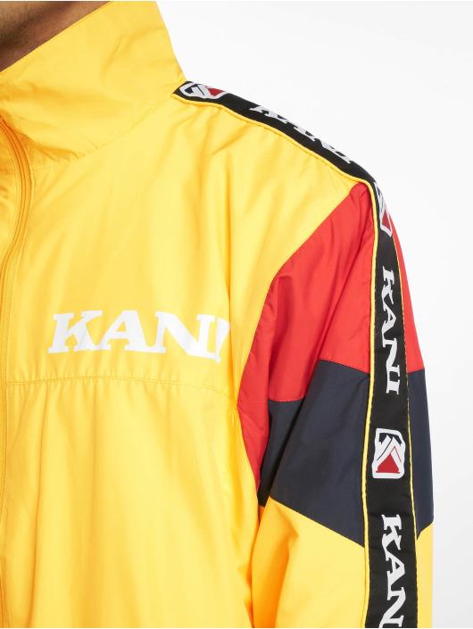 Karl Kani Übergangsjacke Retro Block gelb
