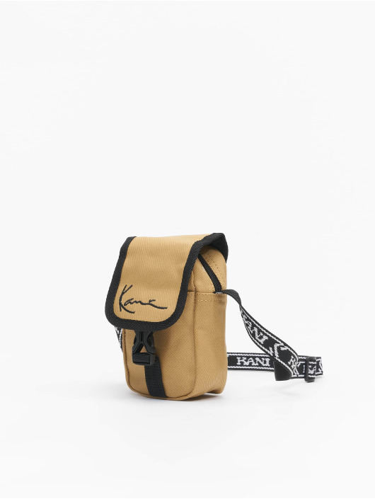 Karl Kani Väska Signature Mini Messenger beige