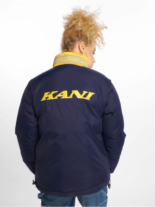 Karl Kani Vattert jakker Bubble gul