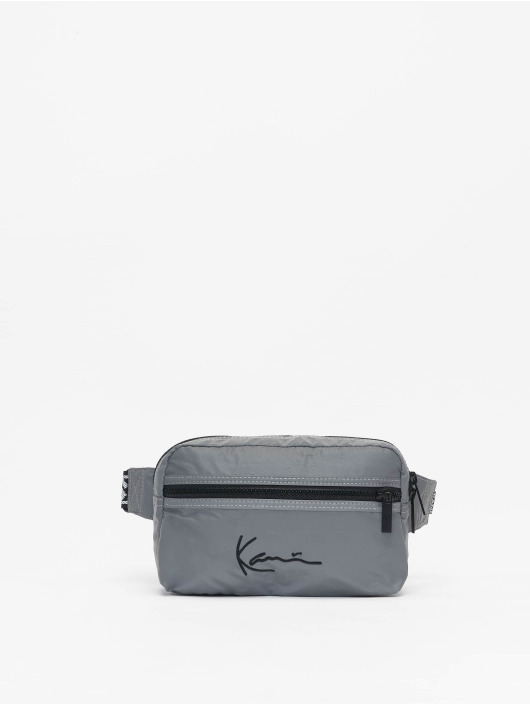 Karl Kani Vesker Kk Signature Tape sølv
