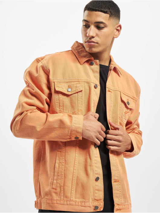 Karl Kani Veste Jean Kk Denim orange