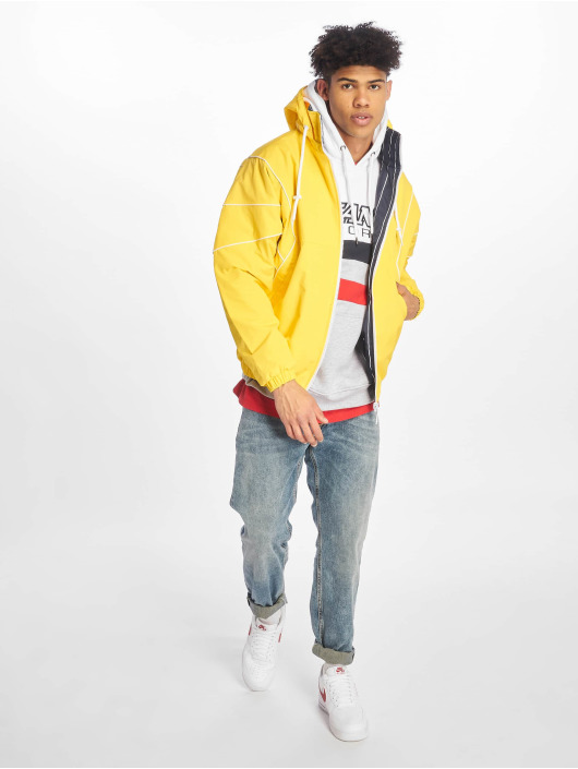 Karl Kani Veste mi-saison légère Reversible jaune