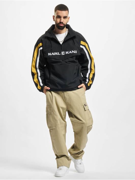 Karl Kani Veste mi-saison légère Retro Block noir
