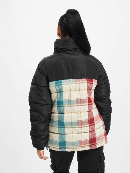 Karl Kani Winter Jacket Retro Block Corduroy black