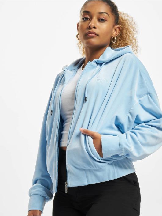 Karl Kani Zip Hoodie Chest Signature blue