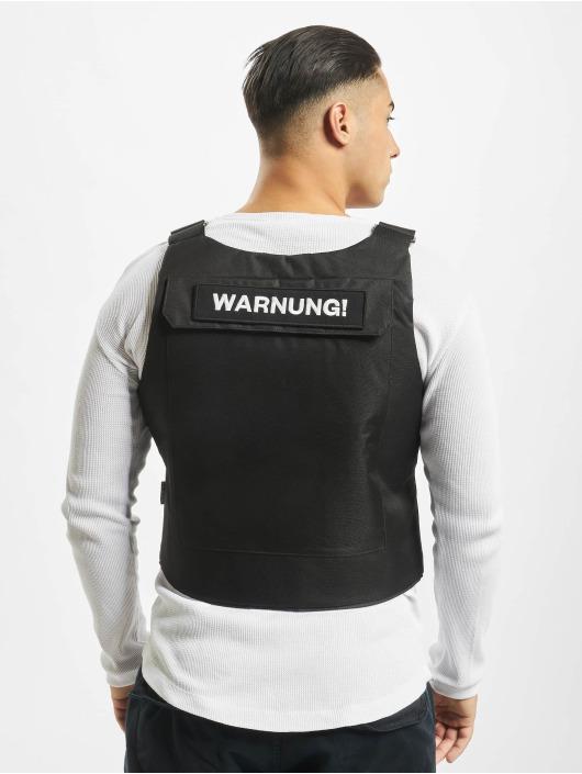 Keine Liebe Bodywarmer Tactical zwart